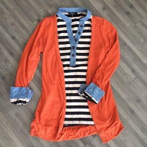 ModCloth Striped Long Sleeve